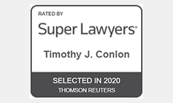 Super Lawyers Timothy J. Conlon Selected in 2020
